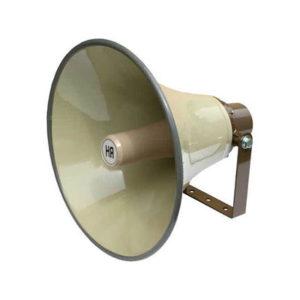 Tlakové reproduktory - verejný rozhlas